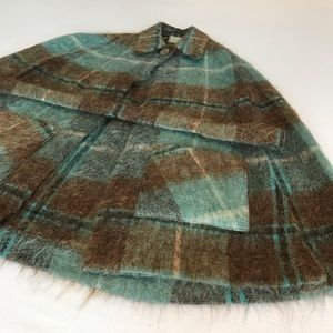 Vintage belted Andrew Stewart Mohair/Wool cape